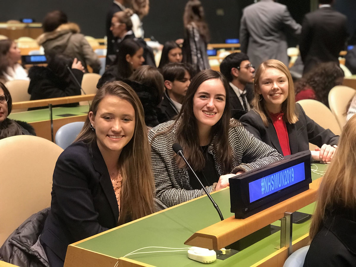 Model UN in the Big Apple