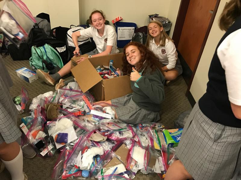 OC Families Aid Hurricane Harvey Victims