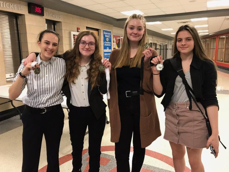OC Debaters Place at Competition
