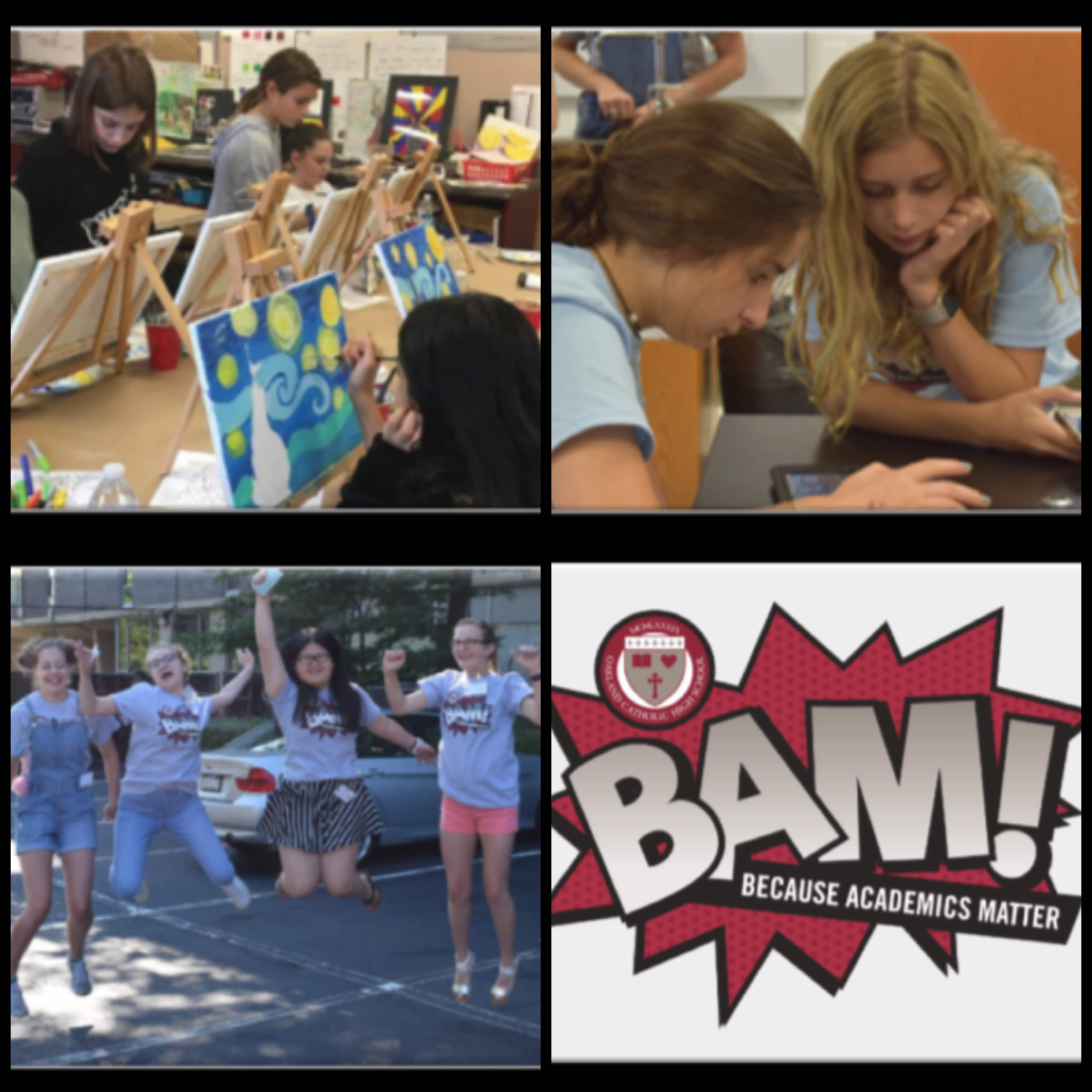 BAM! Saturday Workshops